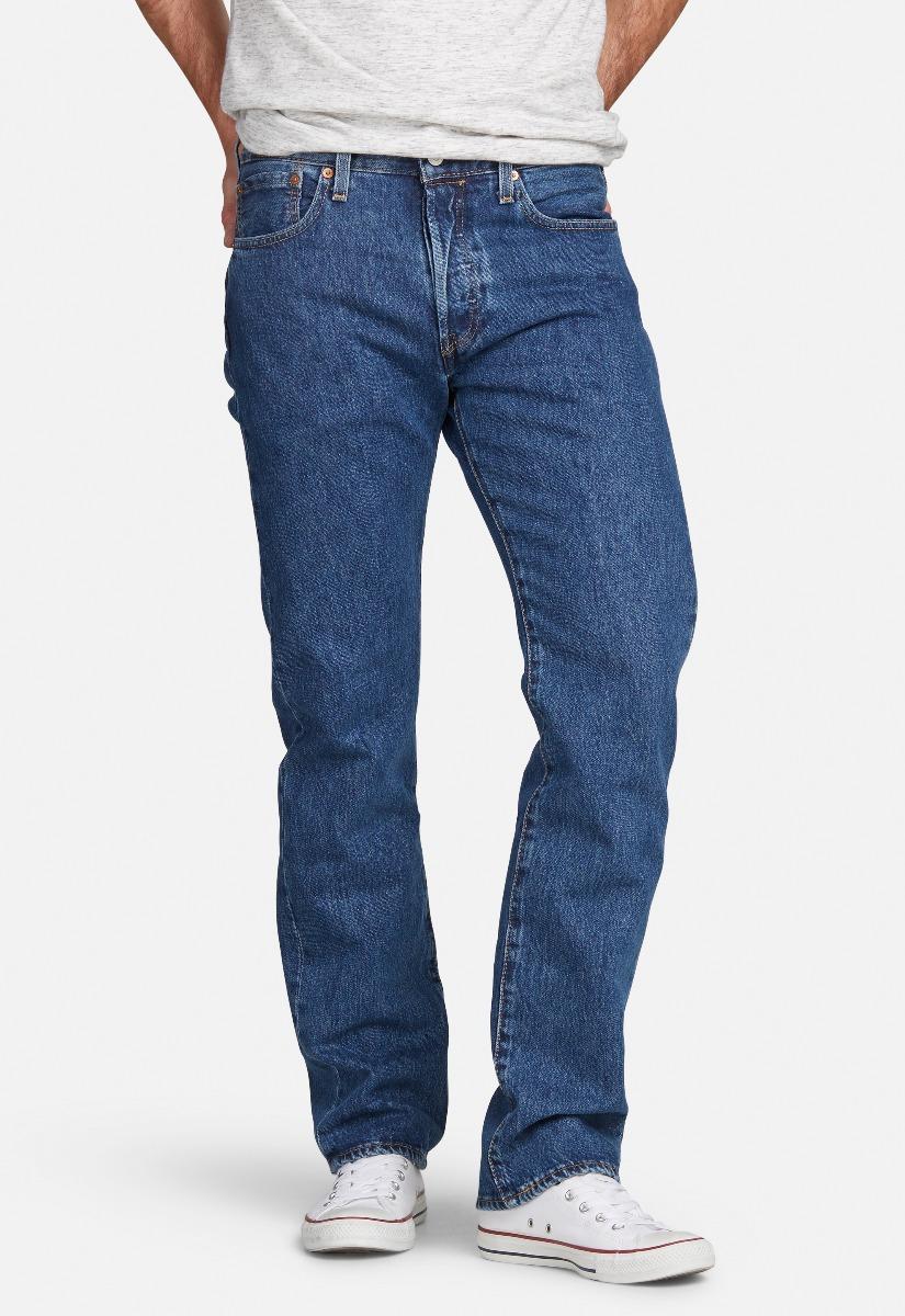 Levis 501 Original Straight Jeans