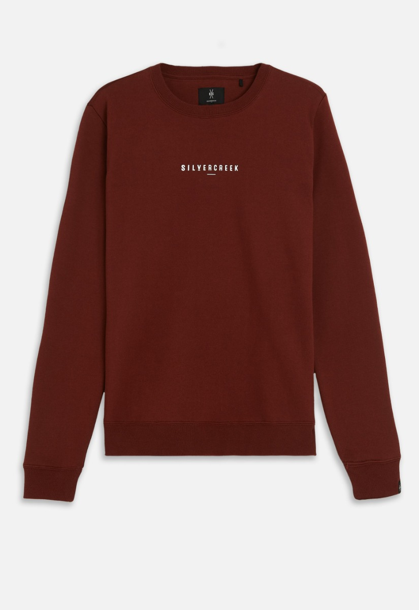 Silvercreek Logo Crew Sweater