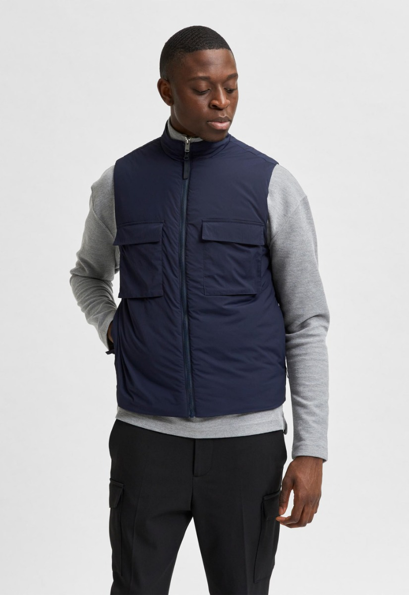 Selected Homme 16077963 Red Read Bodywarmer