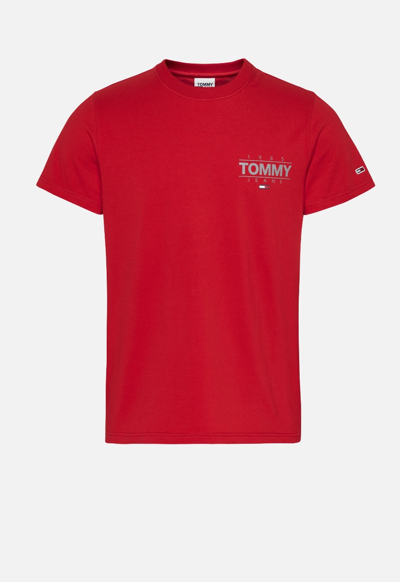 Tommy Jeans Slim Stretch Metallic Tee