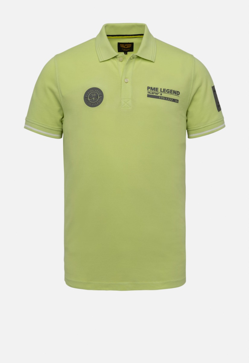 PME Legend PPSS214873 Two tone polo
