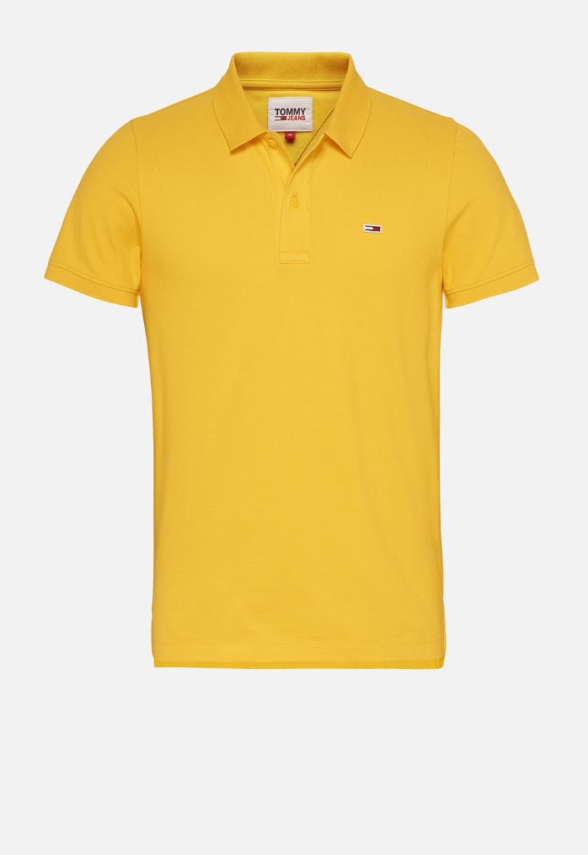 Tommy Jeans Classic Solid Stretch Polo