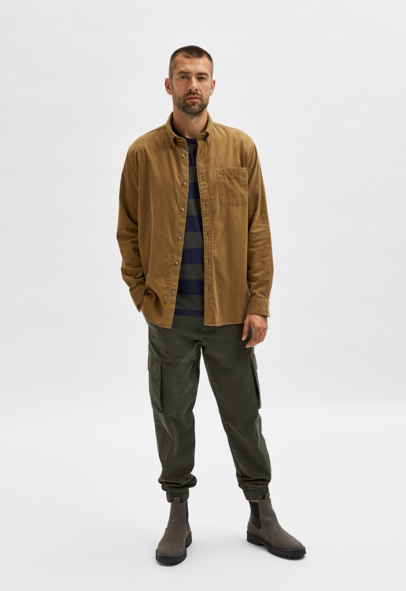 Selected Homme Rick-Cord Overhemd