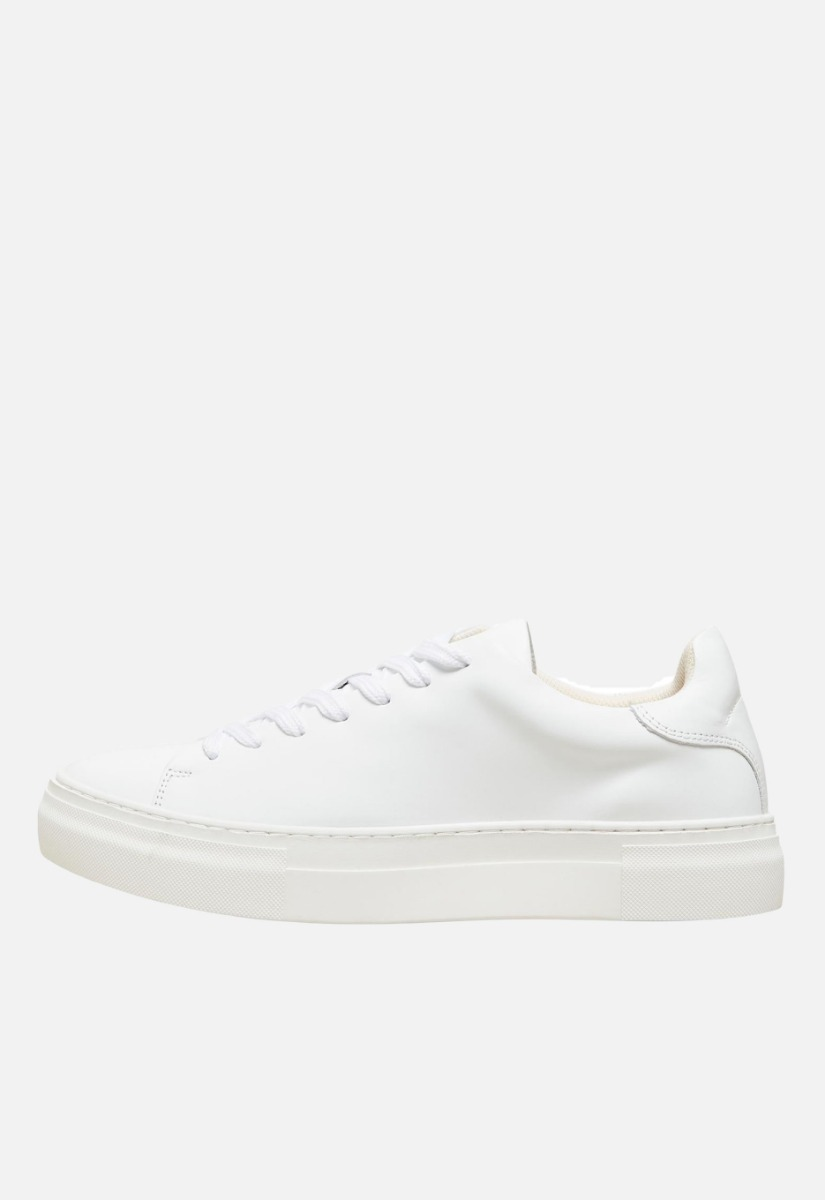 Selected David Chunky Leather Trainer Schoenen