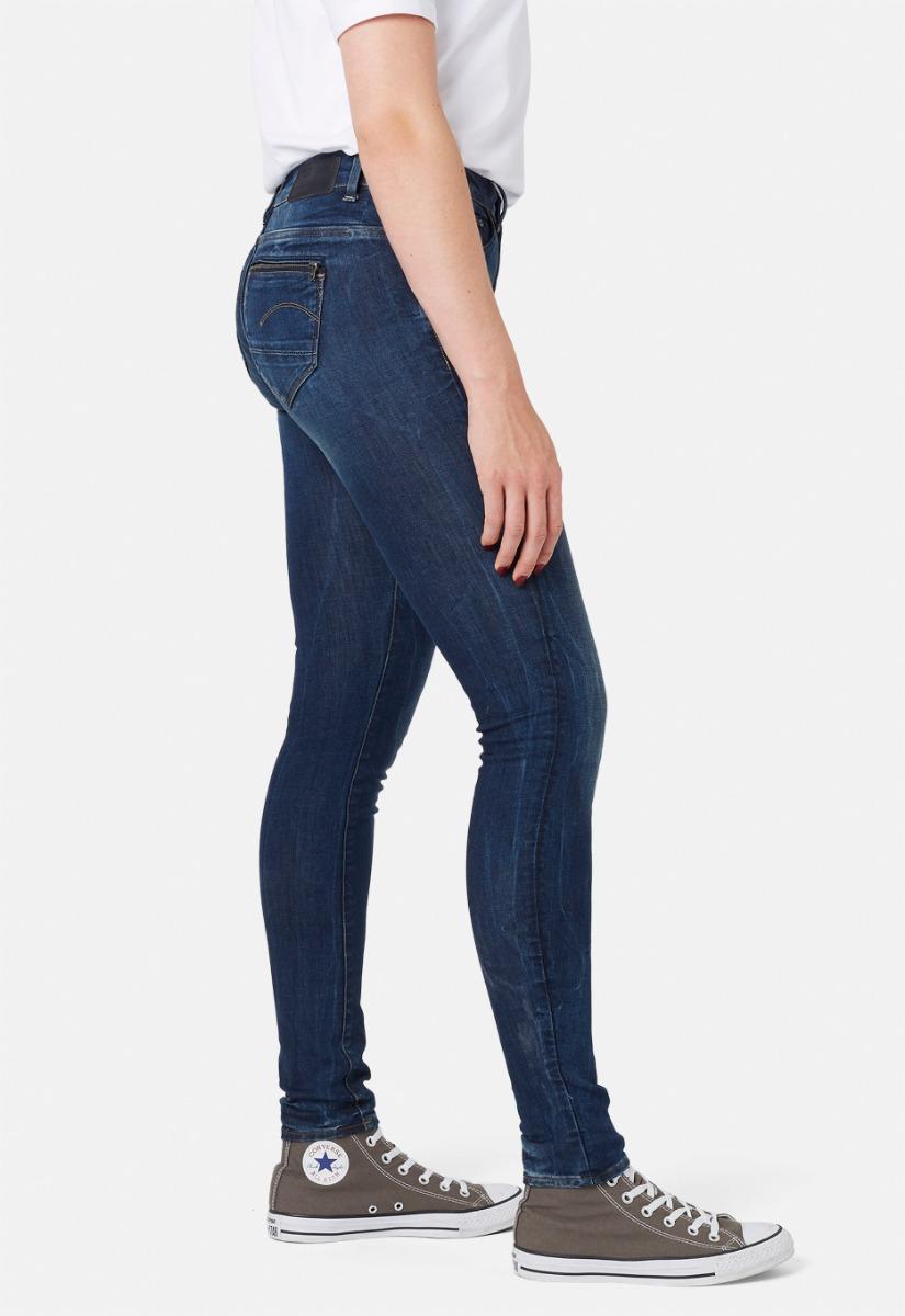 G-Star RAW Midge Zip Skinny Jeans