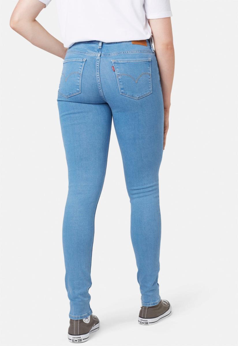 Levi's 711 Mid Rise Slim Jeans