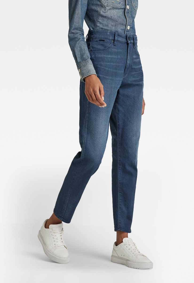 G-Star RAW Janeh Ultra High Mom Ankle Jeans