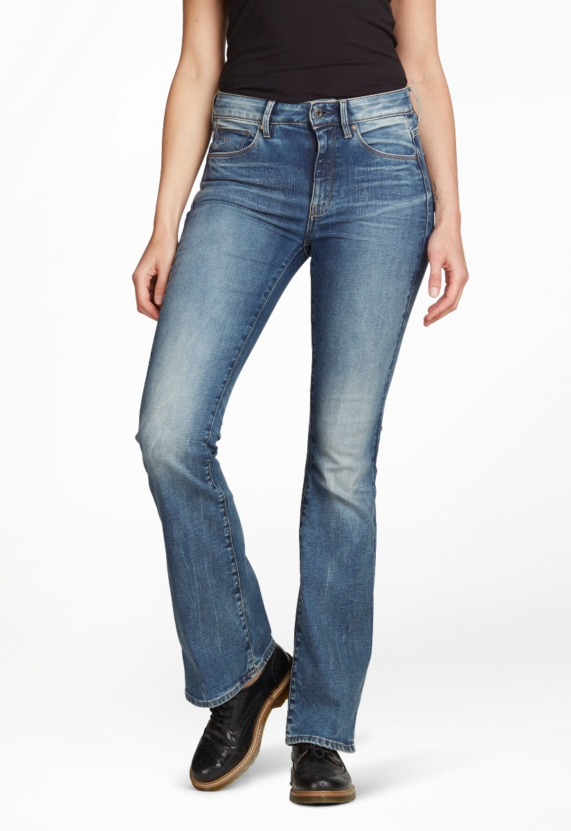 G-Star RAW 3301 High Flare Jeans