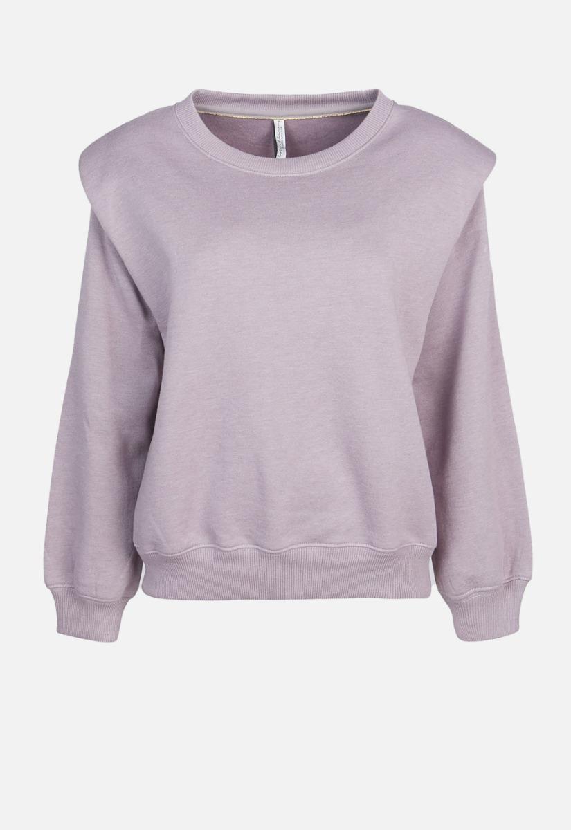Summum Sweater Padded Shoulder Soft Sweater