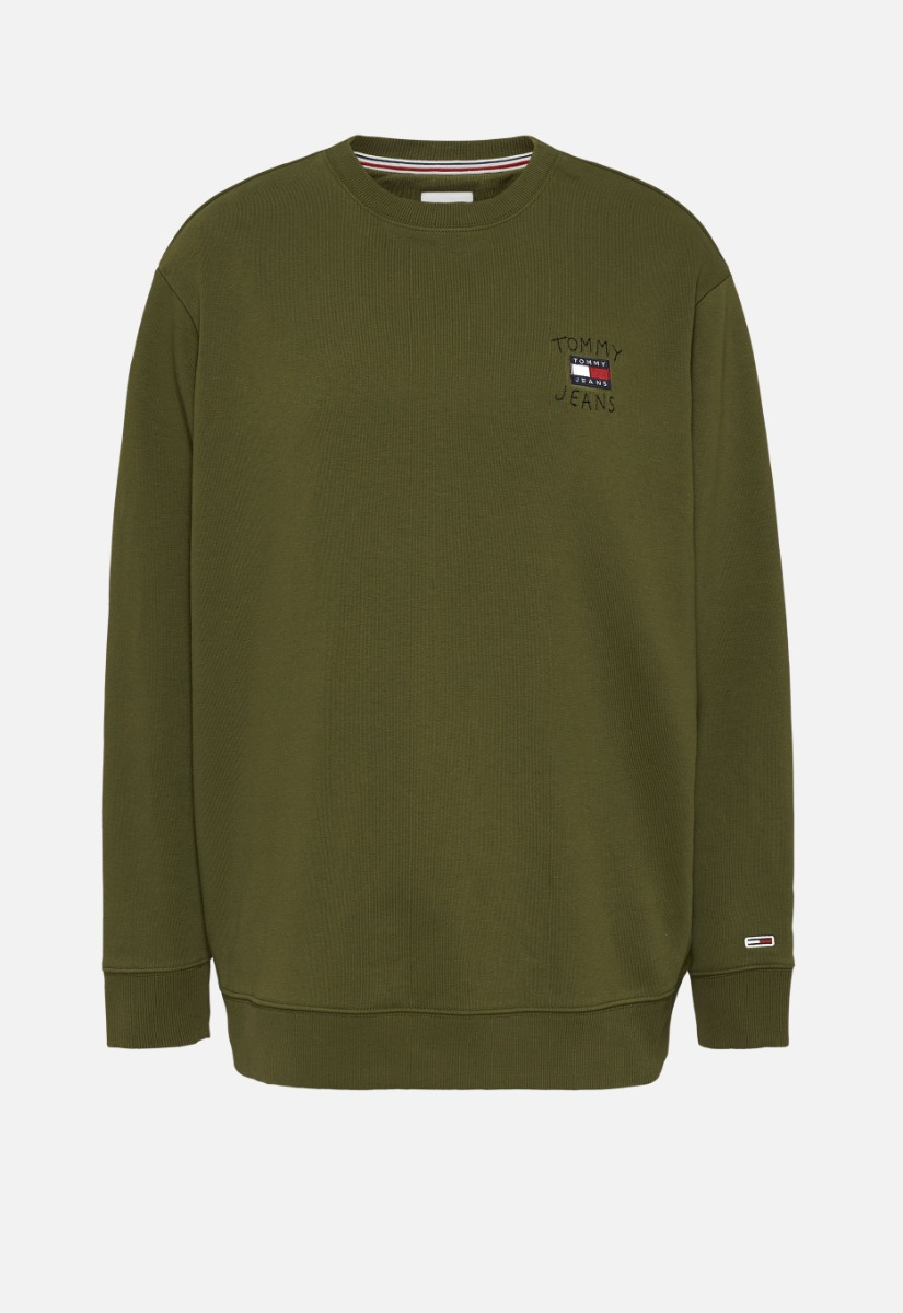 Tommy Jeans Tjw Relaxed Homespun Flag Crew Sweater