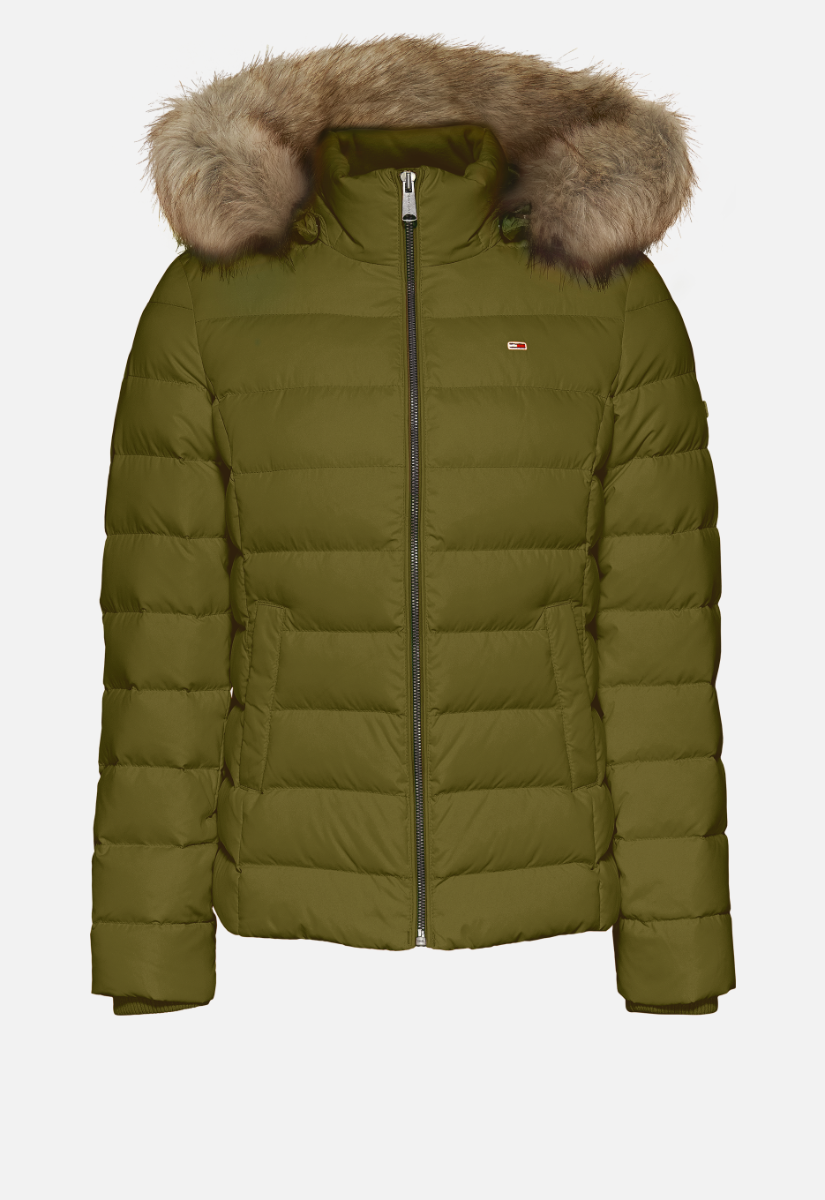 Tommy Jeans Tjw Basic Hooded Down Jas