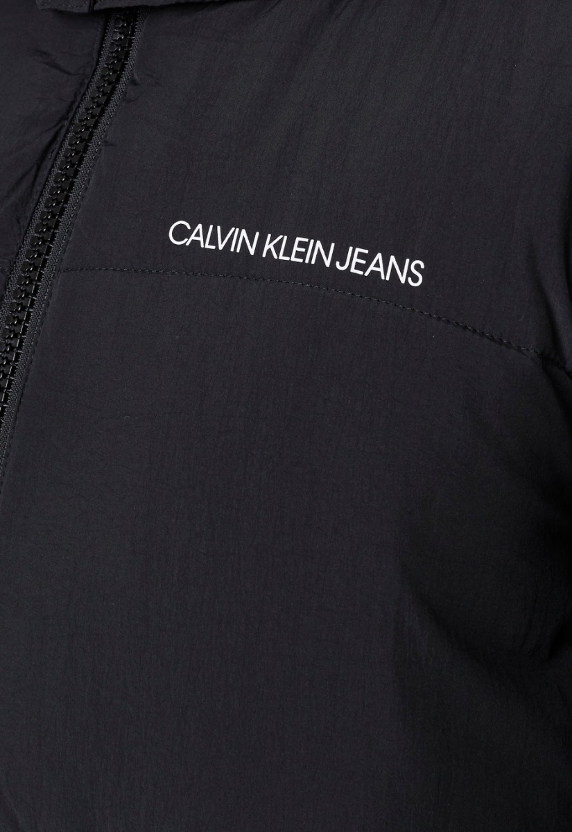 Calvin Klein Ck Side Logo Long Puffer Jas