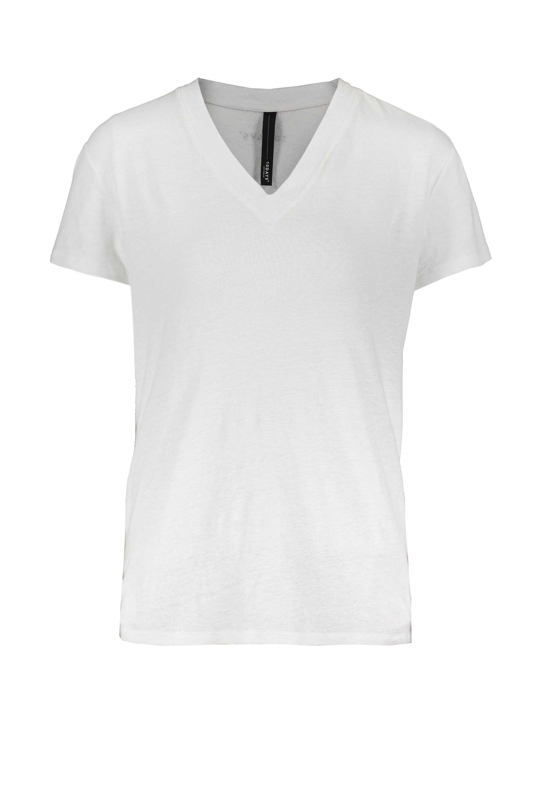 10DAYS V-neck T-shirt