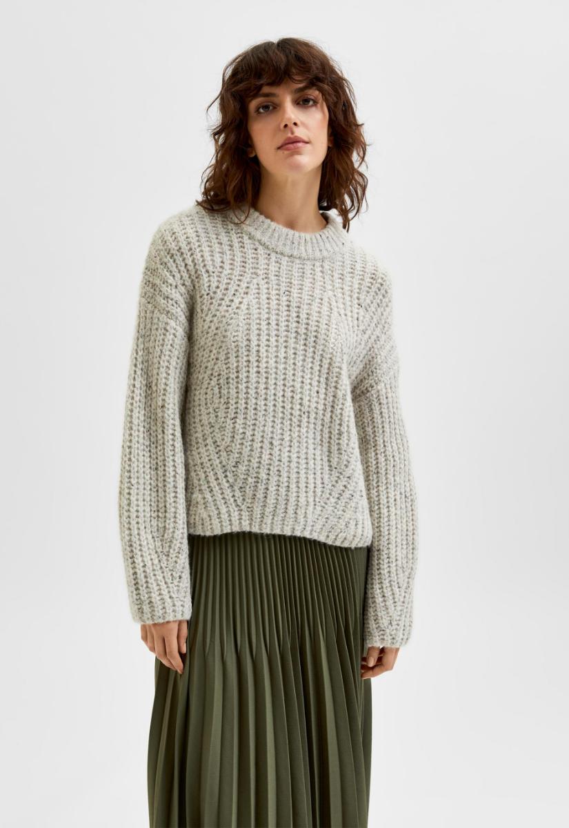 Selected Femme Cara Knit Trui