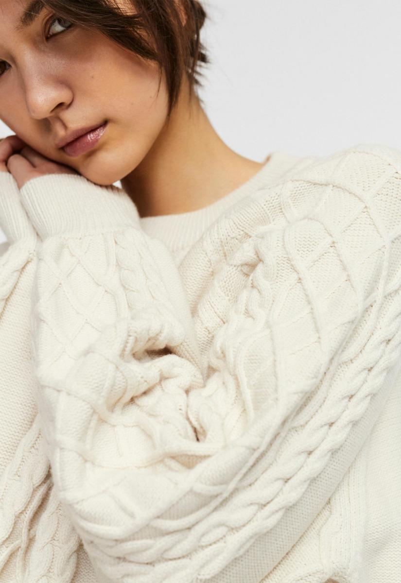 Vero Moda Row ls Oversize Knit - Trui