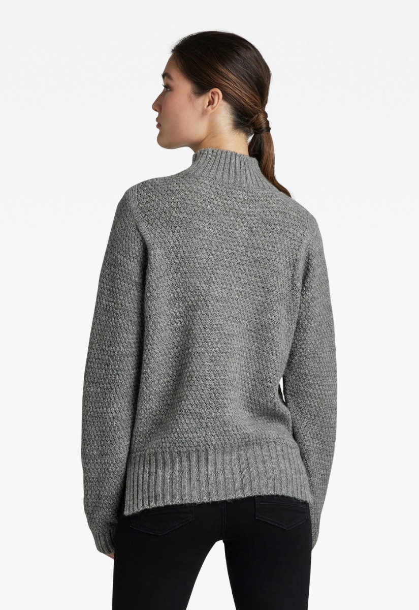 G-Star RAW Structure Mock Knit Coltrui