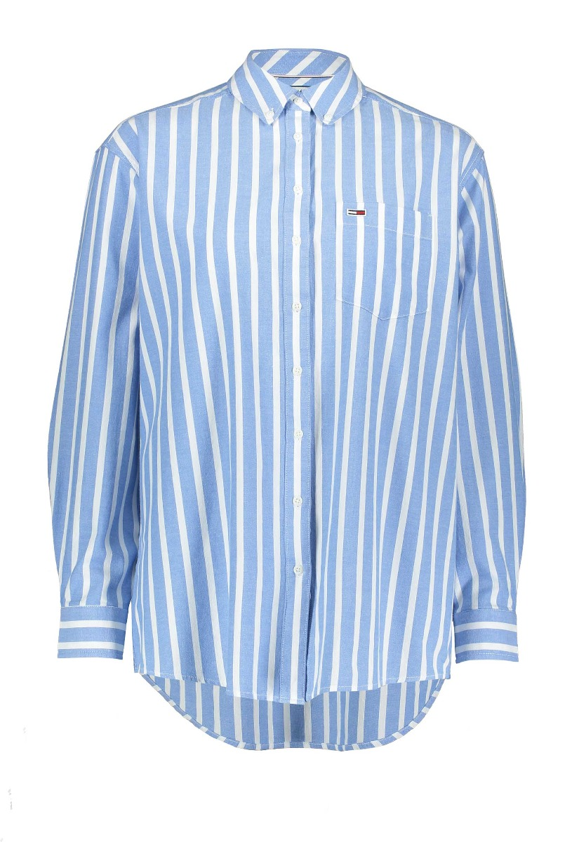 Tommy Jeans Washed Multistripe Shirt Blouse