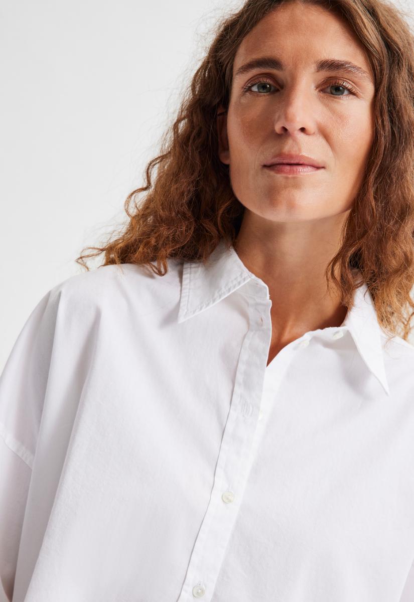 Selected Femme Phoenix Long Shirt Blouse Lange Mouw