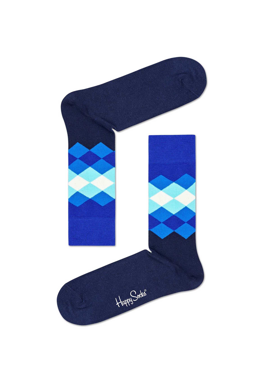 Happy Socks Faded Diamond Sokken