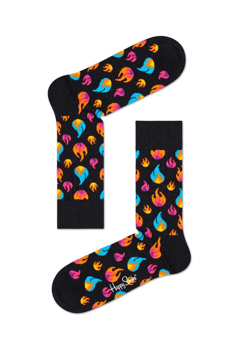 Happy Socks Flames Sokken