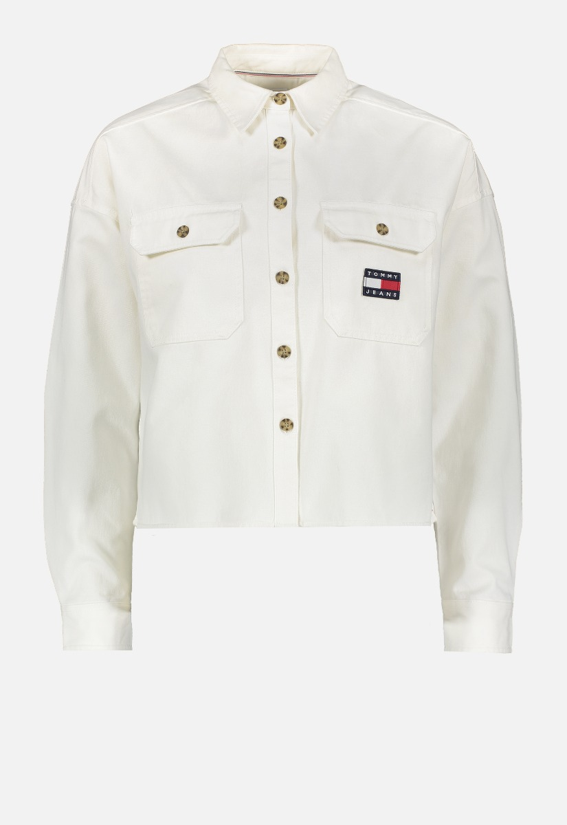 Tommy Jeans DW0DW09771 Cropped Overshirt