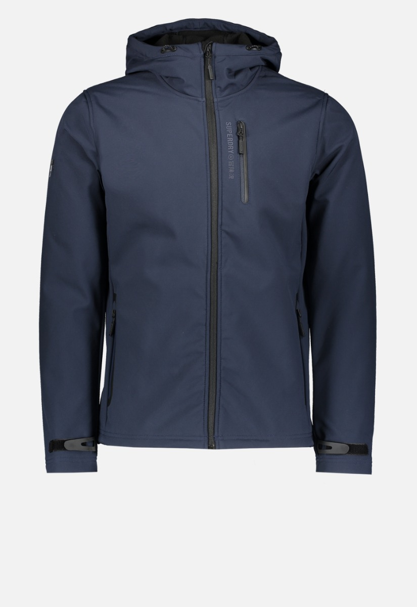 Superdry M5010172A Hooded Softshell Jas