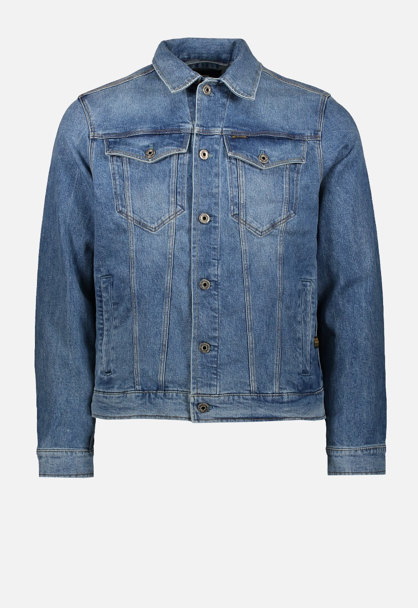 G-Star RAW D11150 C052 3301 Slim Denim Jacket