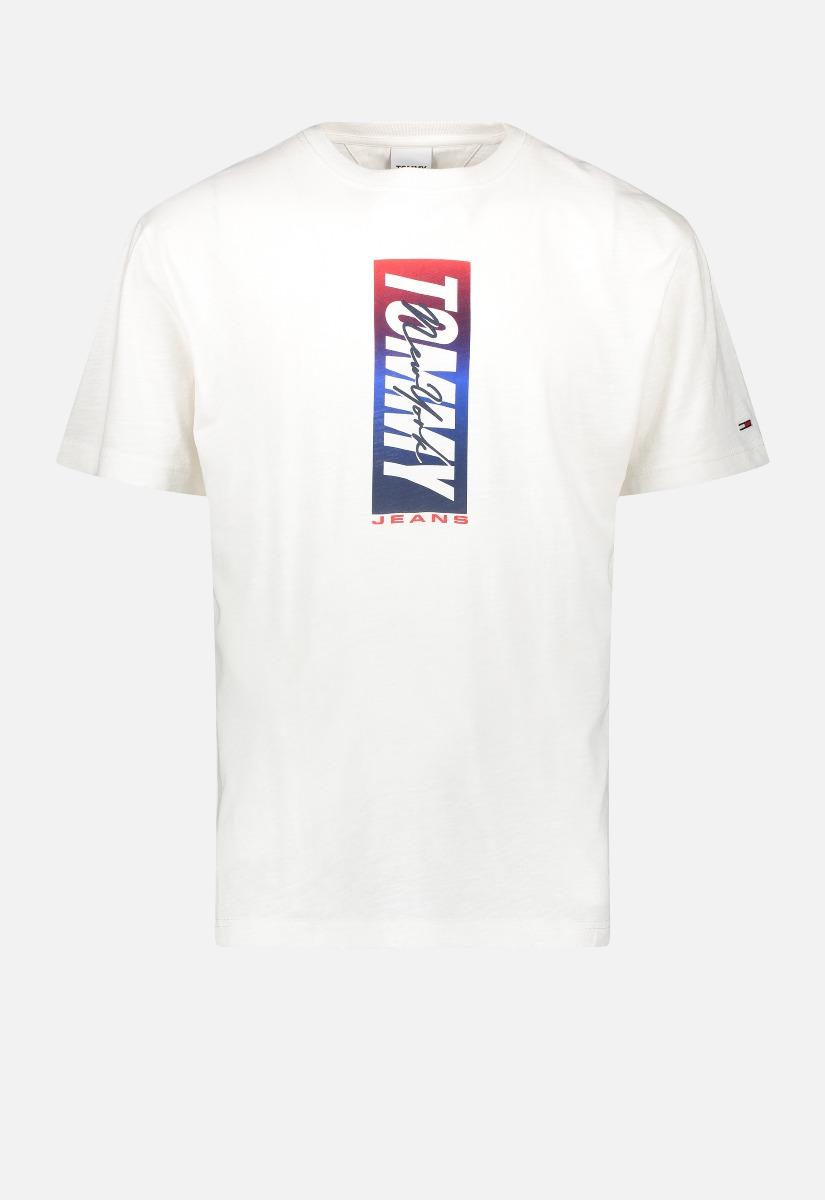 Tommy Jeans DM0DM10238 Vertical Front Logo T-shirt