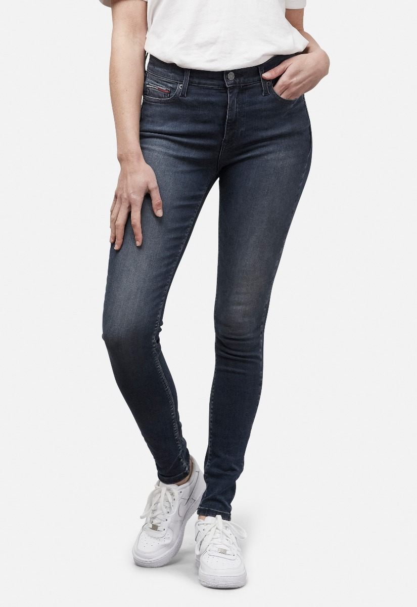 Tommy Jeans DW0DW08371 Nora Mid Rise Skinny Ankle Jeans