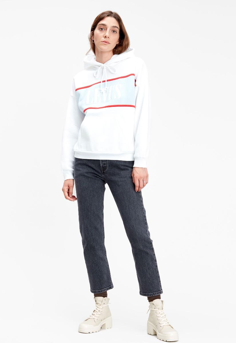 Levi's 85774 Cameron Hoodie Logo Sweater