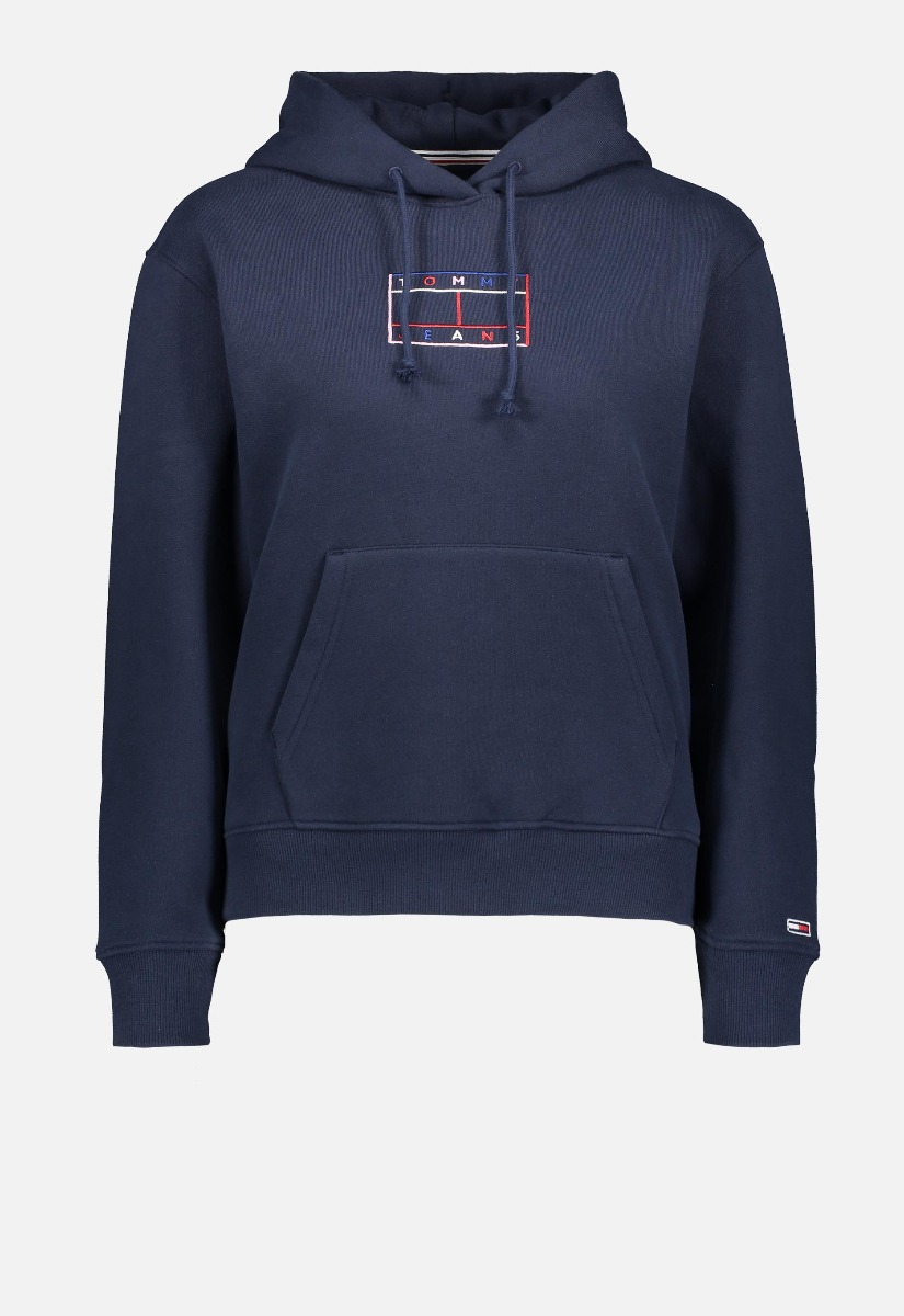 Tommy Jeans DW0DW08985 Outline Flag Hoodie