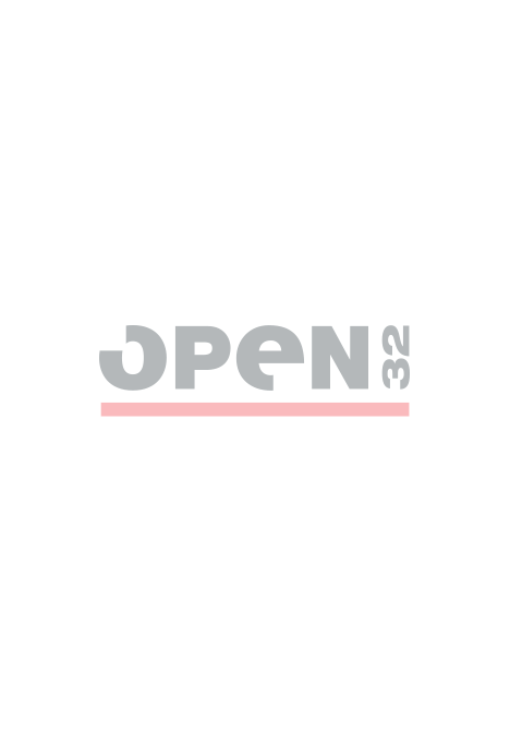 David chunky leather trainer