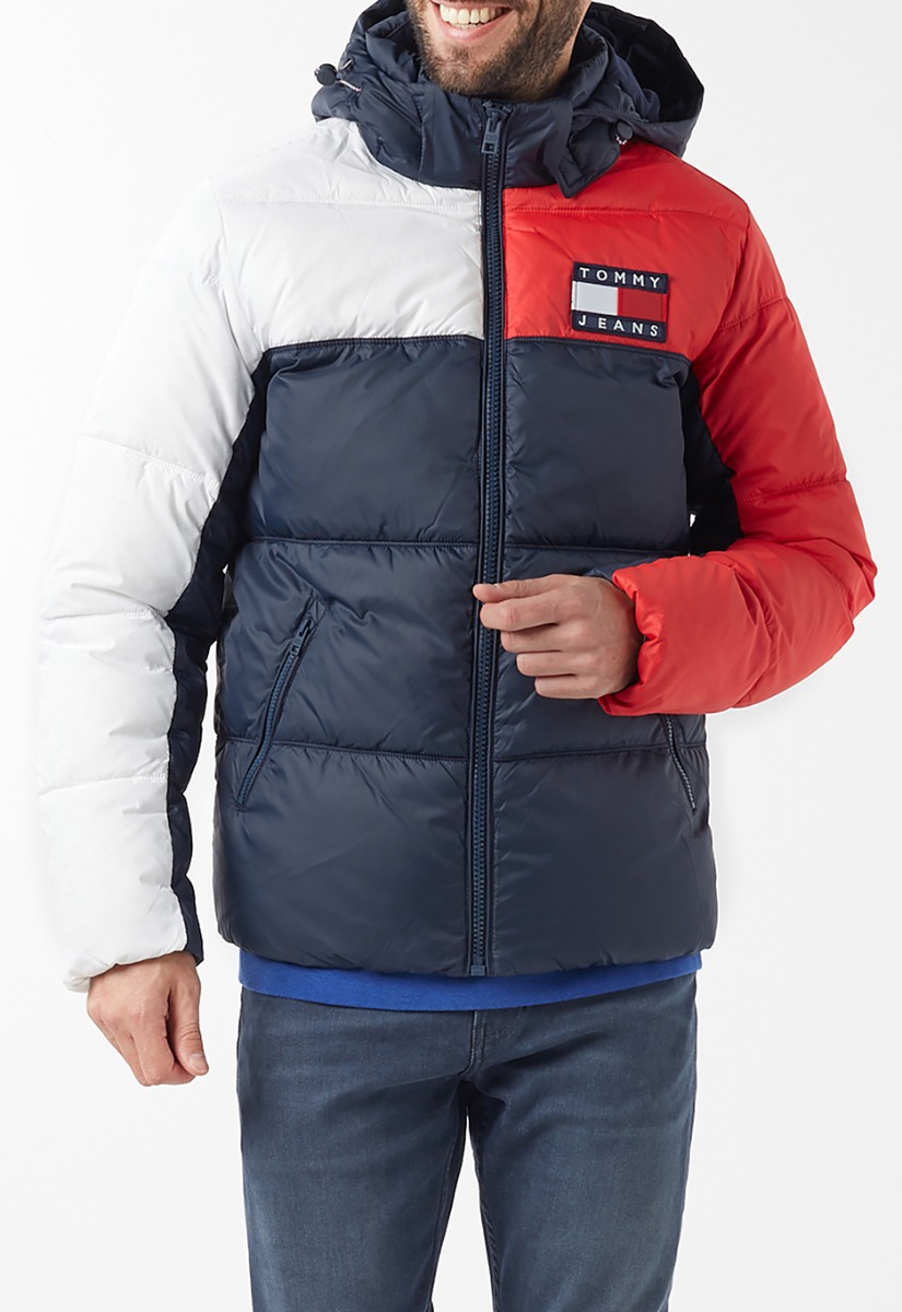 Tommy Jeans Essential Colorblock Jas