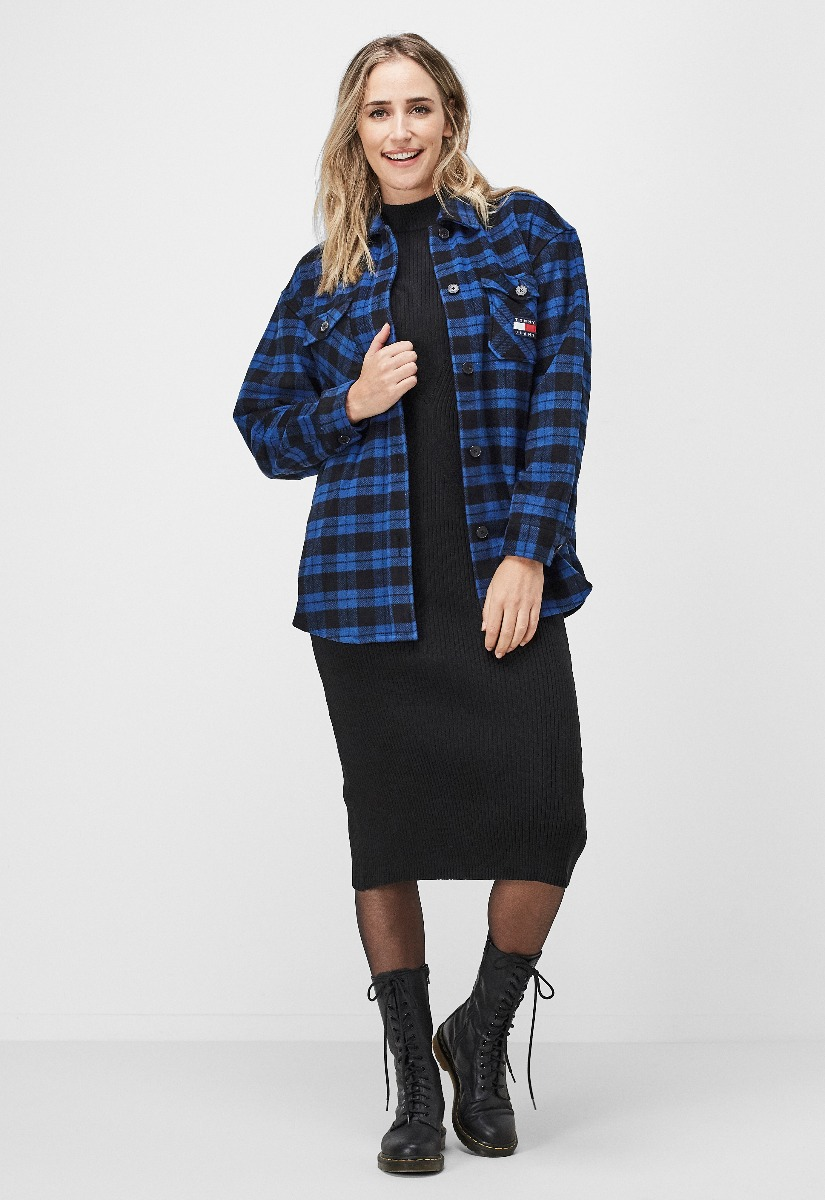 Tommy Jeans DW0DW08920 Flannel Overshirt